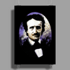Edgar Allan Poe by Rouble Rust Poster Print (Portrait)