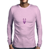 Edgy Bunny Mens Long Sleeve T-Shirt