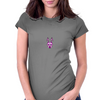 Edgy Bunny Womens Fitted T-Shirt