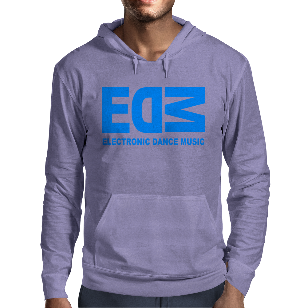 Edm Electronic Dance Music Loud Bass Dubstep Mens Hoodie