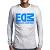 Edm Electronic Dance Music Loud Bass Dubstep Mens Long Sleeve T-Shirt
