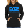 Edm Electronic Dance Music Loud Bass Dubstep Womens Hoodie