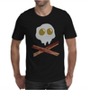 Egg Bacon Skull Bones funny Mens T-Shirt