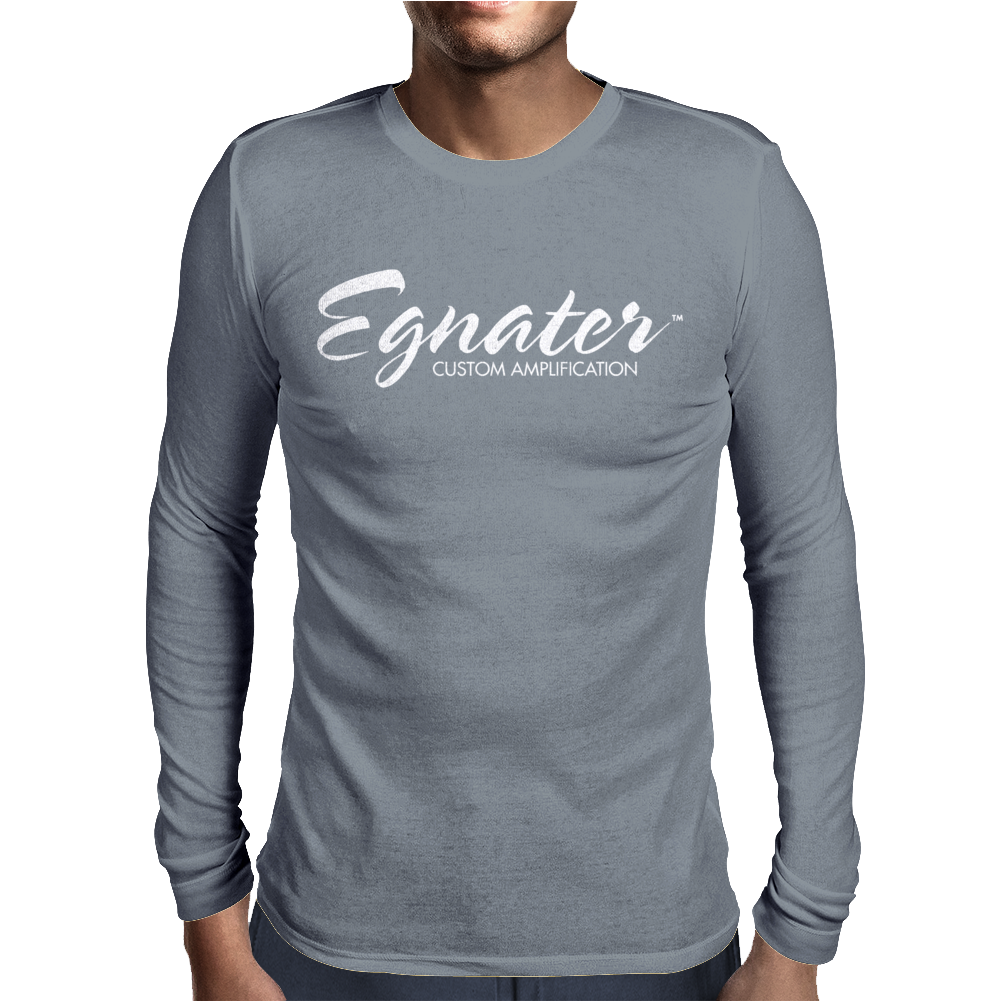 EGNATER new Mens Long Sleeve T-Shirt