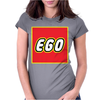 Ego-Lego Label Womens Fitted T-Shirt