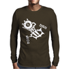 Eight Ball Vinyl Decal Mens Long Sleeve T-Shirt