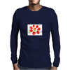 Eight strawberries Mens Long Sleeve T-Shirt