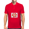 Eight strawberries Mens Polo