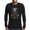 El Bandido Pistolas Guns Bandolier Mens Long Sleeve T-Shirt