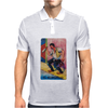 El Borracho The Drunk Tarot Mens Polo
