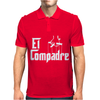 El Compadre - the Godfather in Spanish espanol movie symbol Mexcian tee Mens Polo