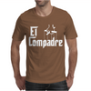 El Compadre - the Godfather in Spanish espanol movie symbol Mexcian tee Mens T-Shirt