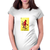 El Diablito The Devil Mexican Lottery Womens Fitted T-Shirt