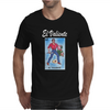 El Valiente The Hero Mexican Lottery Mens T-Shirt