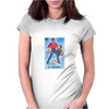 El Valiente The Hero Mexican Lottery Womens Fitted T-Shirt