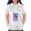 El Valiente The Hero Mexican Lottery Womens Polo