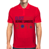 Elect Bernie Sanders 2016 - Flag Design Mens Polo