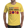 Elect Bernie Sanders 2016 - Flag Design Mens T-Shirt