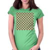 Electric Net Womens Fitted T-Shirt