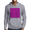 Electric Pink Cloud Mens Hoodie