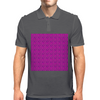 Electric Pink Cloud Mens Polo