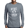 Electrician By Day Ninja By Night Mens Long Sleeve T-Shirt
