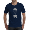 Elephant in Parachute Mens T-Shirt