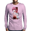 Elfen Lied Red Passion Mens Long Sleeve T-Shirt