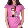 Elfen Lied Red Passion Womens Fitted T-Shirt