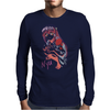 Elfen Lied Watercolor Mens Long Sleeve T-Shirt