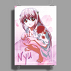 Elfen Lied Watercolor Poster Print (Portrait)