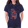 Elfen Lied Watercolor Womens Polo
