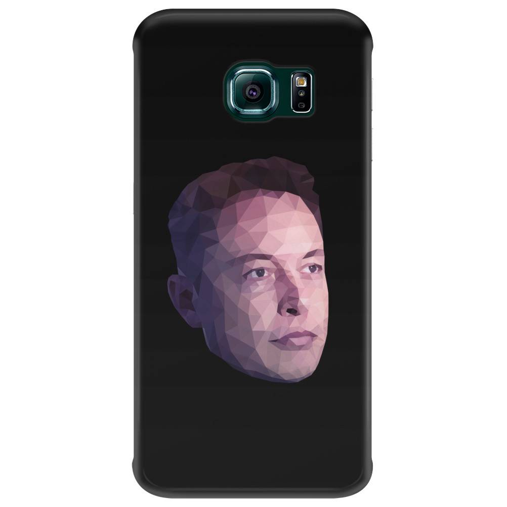 Elon Musk Low Poly Portrait Phone Case