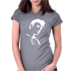 Elvis Presley Silhouette Womens Fitted T-Shirt