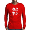 E=MC Squared Mens Long Sleeve T-Shirt