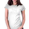 E=MC Squared Womens Fitted T-Shirt