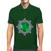 Emerald Brooch Mens Polo