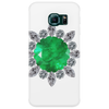 Emerald Brooch Phone Case