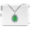 Emerald Pendant Necklace Tablet
