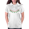 Emeralds and Orange Flowers Womens Polo