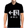 Emergency Exit Japanese Mens Polo