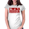 Emergency Number Womens Fitted T-Shirt