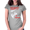 Emily the Strange style Womens Fitted T-Shirt