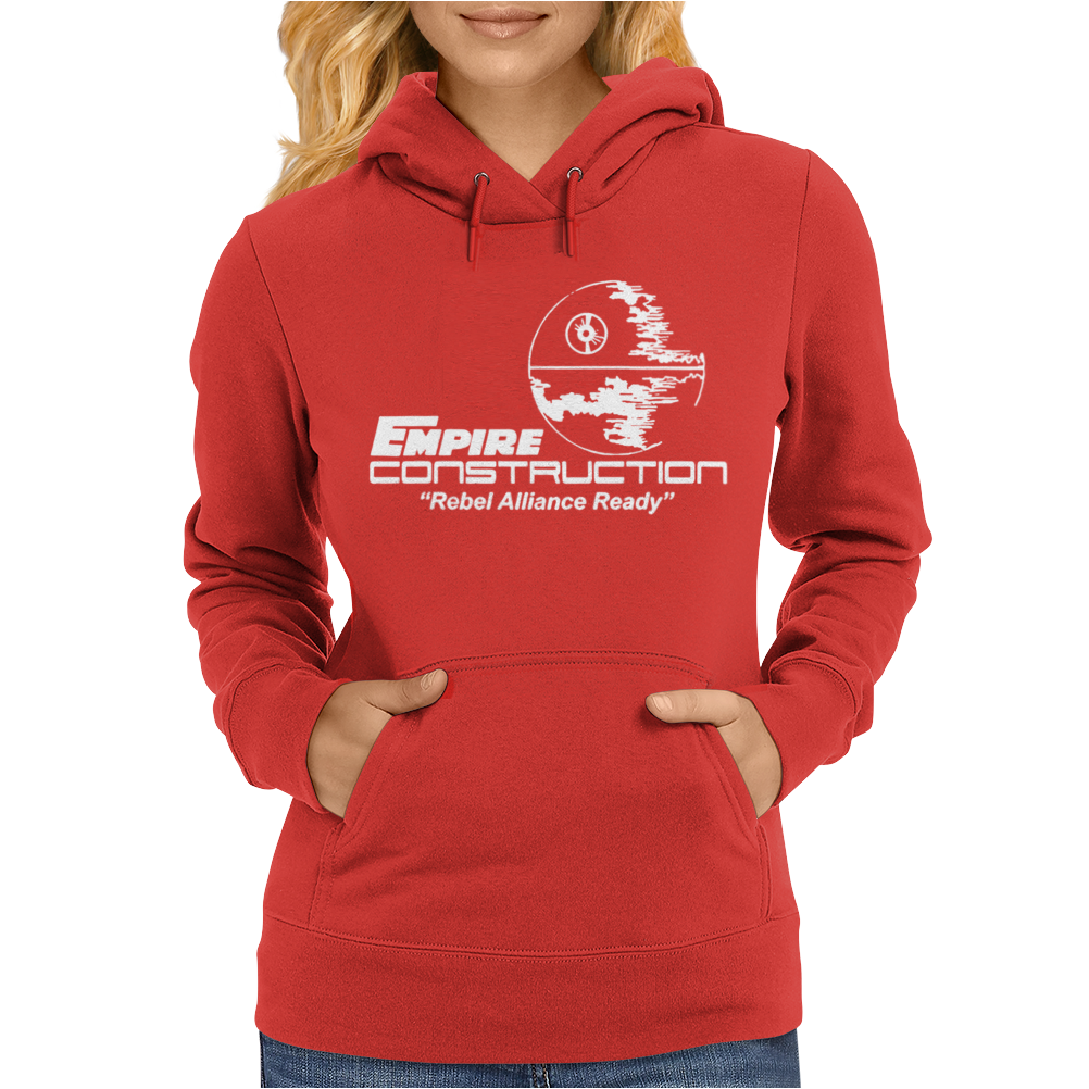 Empire Construction Womens Hoodie