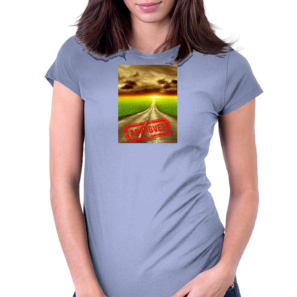 Endless Road Go Longboard Road Approved Womens Fitted T-Shirt