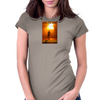 Endless Road Go Longboard Womens Fitted T-Shirt