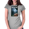 Endless Roads Go Longboard & Kill the Hill Womens Fitted T-Shirt