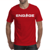 'Engage' Captain Jean-Luc Picard Mens T-Shirt