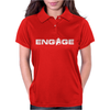 'Engage' Captain Jean-Luc Picard Womens Polo