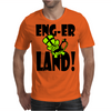 Enger Land Monkey Mens T-Shirt